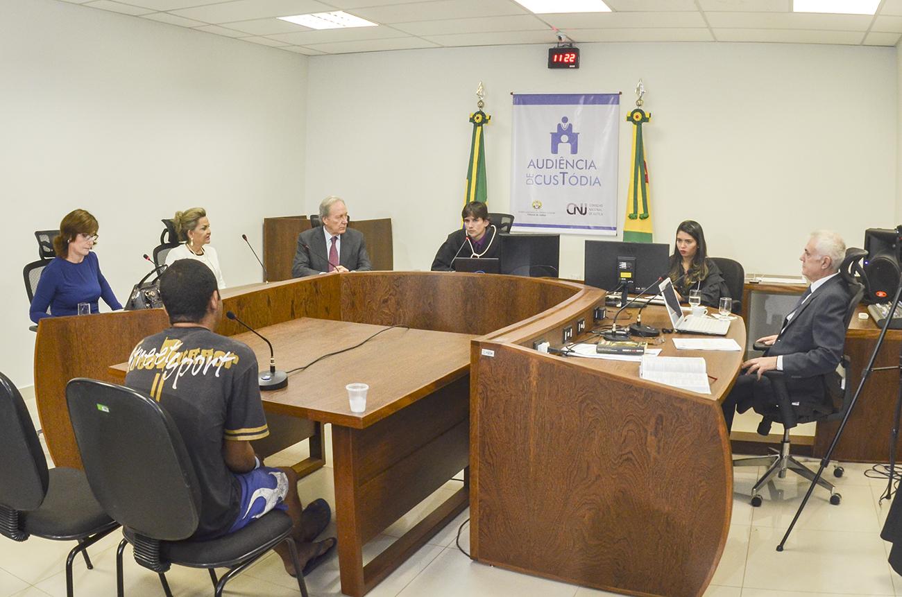Lançamento do projeto Audiência de Custódia no estado do Acre. (Foto: Tribunal de Justiça do Estado do Acre)
