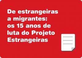 De estrangeiras a migrantes