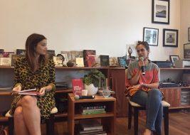 Isabel Machado à esquerda e Raquel da Cruz Lima à direita em debate sobre discurso punitivo da CIDH. Foto: Surrailly Youssef Fernandes.