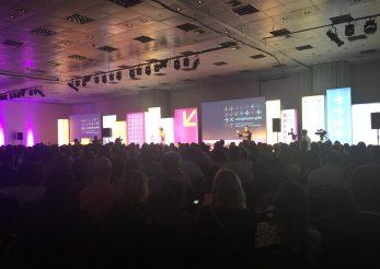 Sessão de abertura do Congresso Gife. Foto: Ana Navarrete | ITTC.